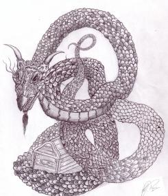 Dragon Guards Treasure - Pencil