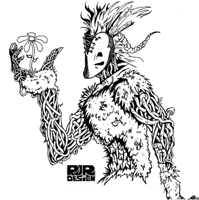 Forest Spirit Digital Vector