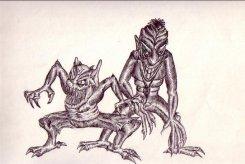 Monsters - Pen