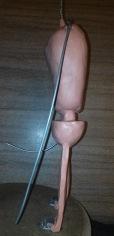 Laputa Robot Sculpt Armature Side