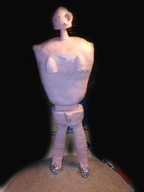 Laputa Robot Sculpt Front
