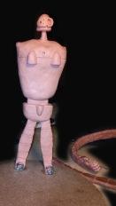 Laputa Robot Sculpt Front 1