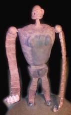 Laputa Robot Sculpt Fired and Assembled